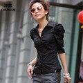 Mujer Blusas Blusa Más El Tamaño L-4xl 5xl Tops Nuevo Verano estilo Tees Camisa Femenina de Algodón Vestido Casual Mujer Camisas blusas blusa