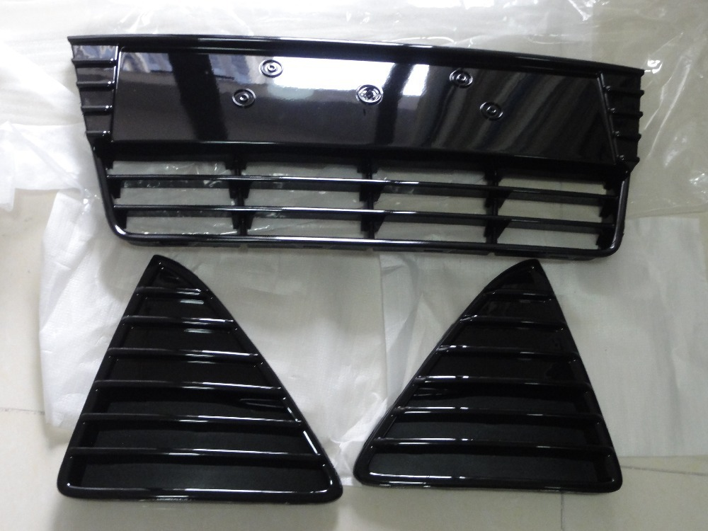 1Set Front Bumper Lower Grill Center Grille Left& Right Set Ford Focus 2012-2014 - FullStar Store store