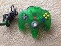 Gamepad Controlador de jogos Para nintend o N64 Game Pad Joystick Joypad Cor Cristal