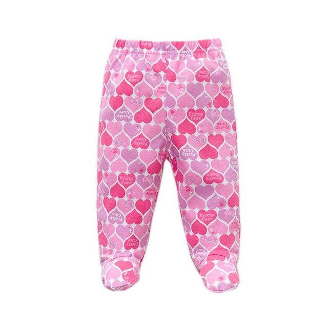 Baby's Cotton Pants with Elastic Waist 3 pcs Set 6