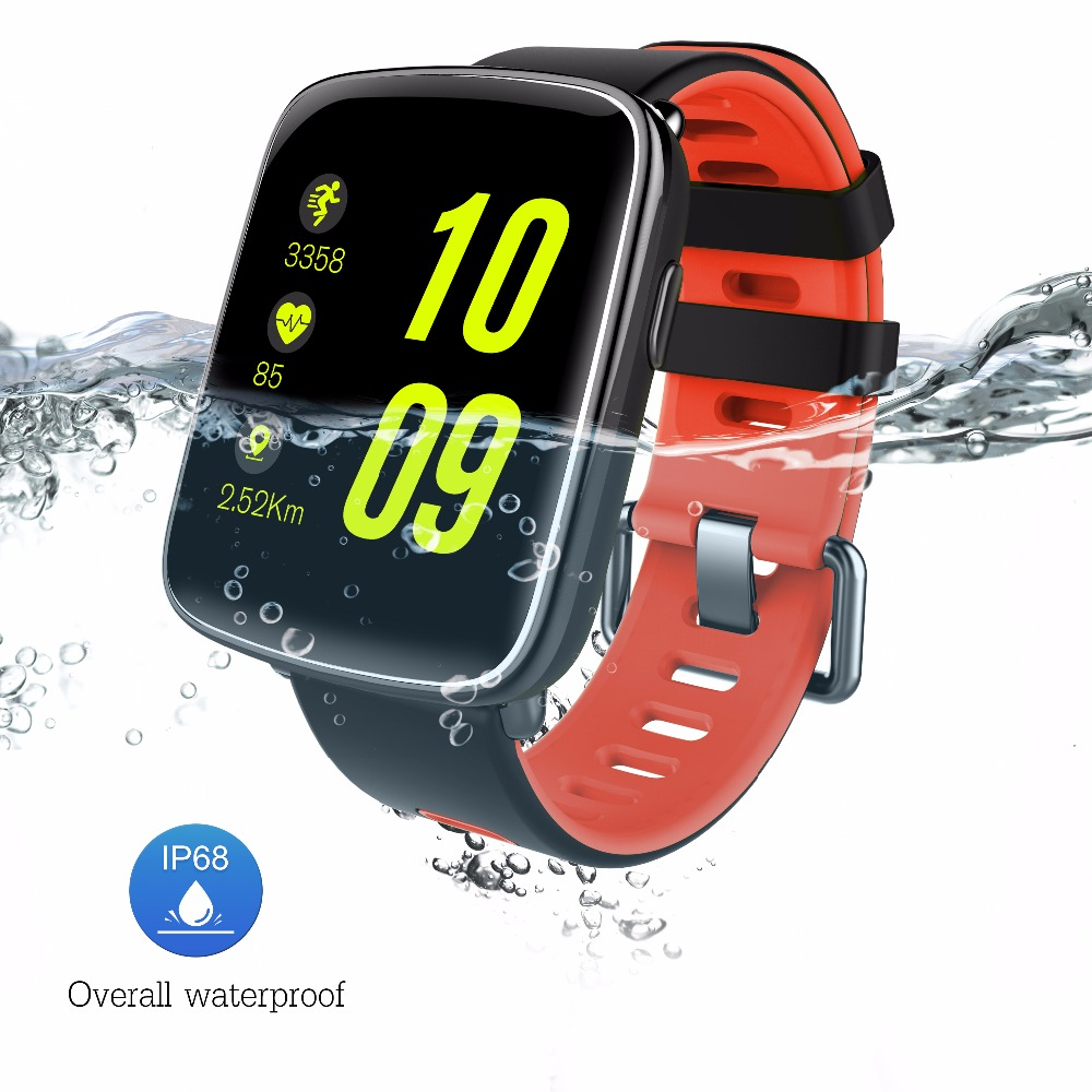 IP68 Waterproof Swimming Bluetooth Smart Watch Accurate Heart Rate Sensor Pedometer Sleep monitor Sitting alert for Android ios f2 smart watch accurate heart rate