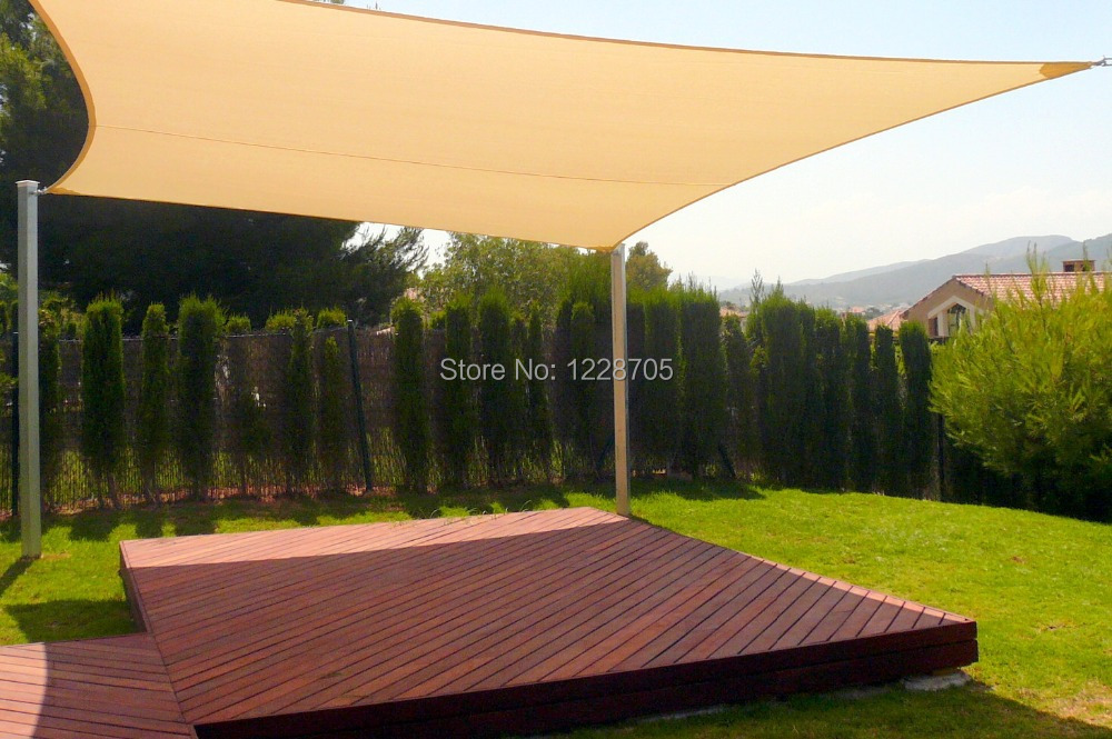 4x6m Sun Shade Sail Canopy Hdpe Uv Proof Cool Area In Sails Nets From Home Garden On Aliexpress Alibaba Group