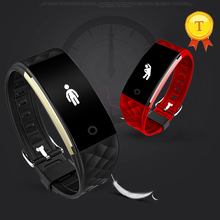 2017 Outdoor Sports Bracelet Wristband Waterproof Bluetooth Smart Band Fitness Activity Tracker For Driving Run Bicycle swmming