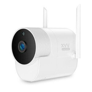 Image 5 - Xiaovv наружная панорамная камера наблюдения камера 1080P беспроводная WIFI Высокая четкость ночного видения работа для приложения Mijia
