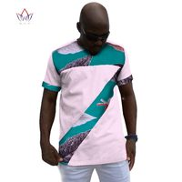 African Clothes Dashiki African t Shirts Short Sleeve t shirt off White Printing Joint Mens African Clothing Plus Size 6XL WYN56