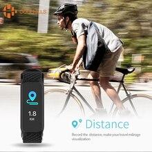 Coolhills L38i смарт-браслет Для женщин Для мужчин умный Браслет Цвет ЖК-дисплей Экран сердечного ритма Мониторы Спорт Шагомер Водонепроницаемый SmartBand