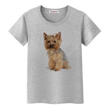 1BGtomato Cute 3D dog printing Shirts Girls lovely Animal Tops hot sale Brand New Casual T-shirt women funny 3D dog tshirt 1