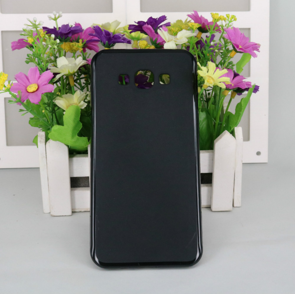 Matte Soft TPU Case For <font><b>Samsung</b></font> Galaxy A8 <font><b>A8000</b></font> Silicone Ultra Thin Slim Back Cover image