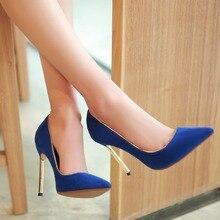 womens sexy stiletto high heels shoes black blue silver golden pointed toe 10cm thin heel new designer ladies casade pumps 8-605