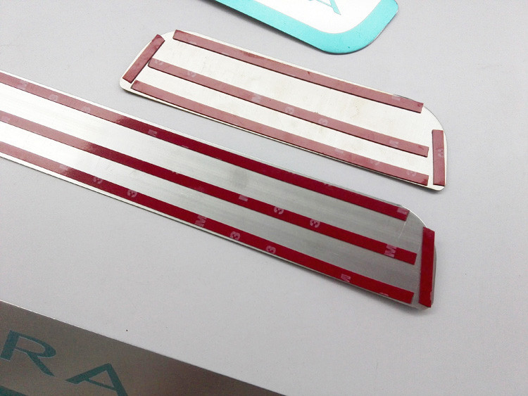 FREE SHIPPING 2010 2012 2014 For OPEL ASTRA J For VAUXHALL ASTRA  sedan hatchback stainless steel door sill strip welcome pedal car accessories (4)