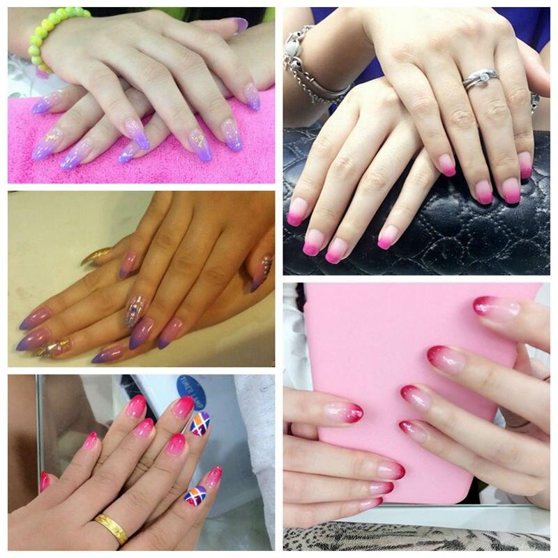 Elite99 UV LED Gel Thermal Change Color Top Manicure Nails Color ...
