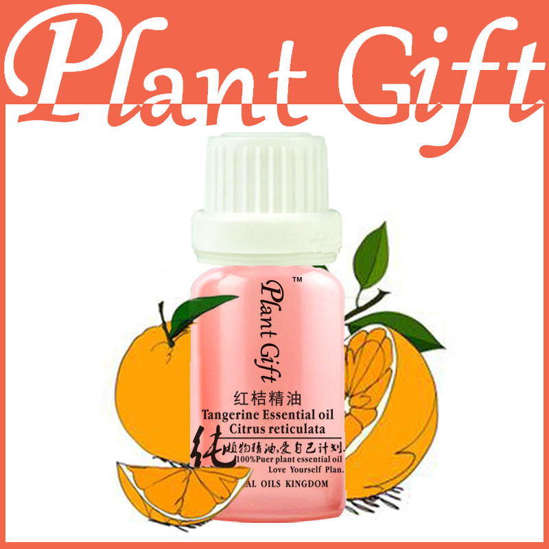Free Shopping 100% Pure Plant Essential Oil Tangerine Oil 10ml Suitable For Dry, Aging Skin Care Treatment Level