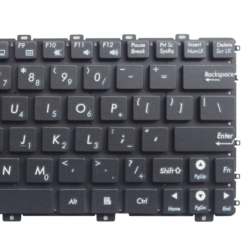 Image 3 - GZEELE NEW US laptop keyboard For Asus Eee PC EPC 1015 1015PN 1015PW 1015BX 1015PX 1015PD 1015TX 1015CX 1011PX 1011CH NO frame-in Replacement Keyboards from Computer & Office on