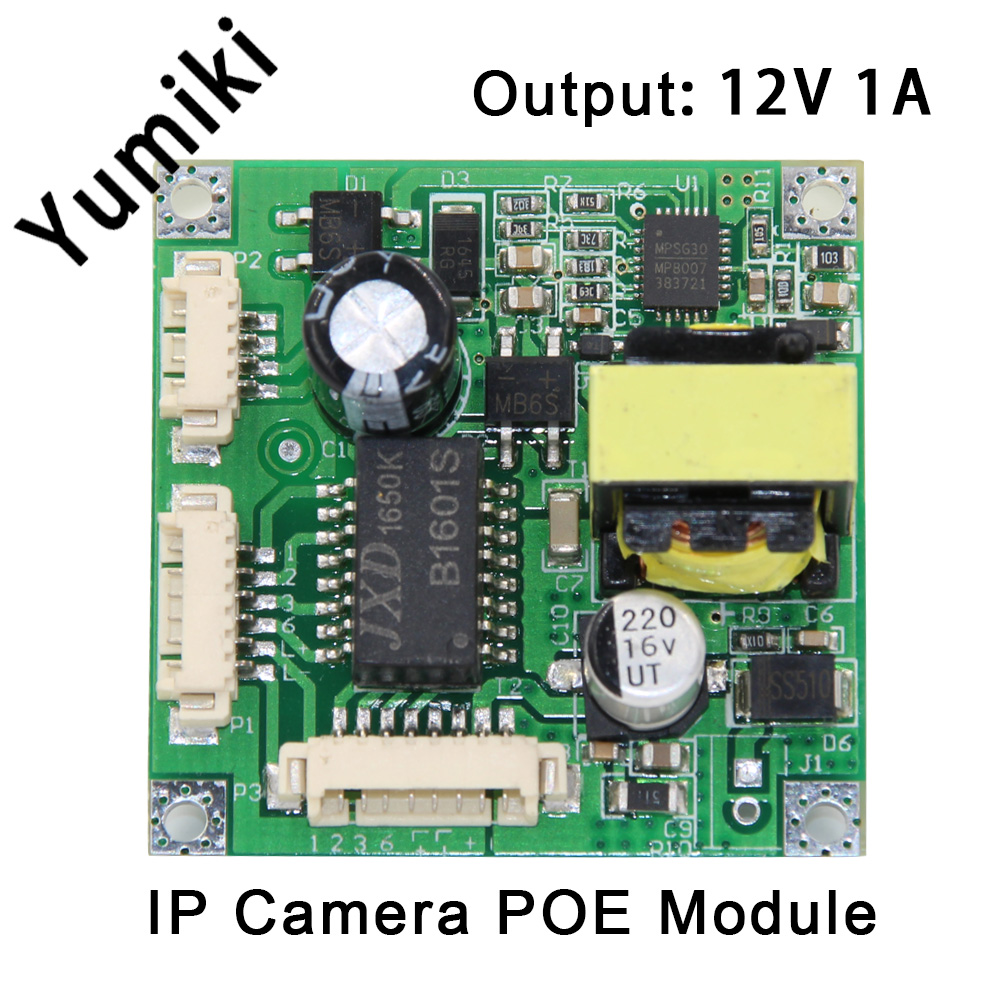 48V Input 38*38mm Ip Camera Poe Module,ip Camera Module Board
