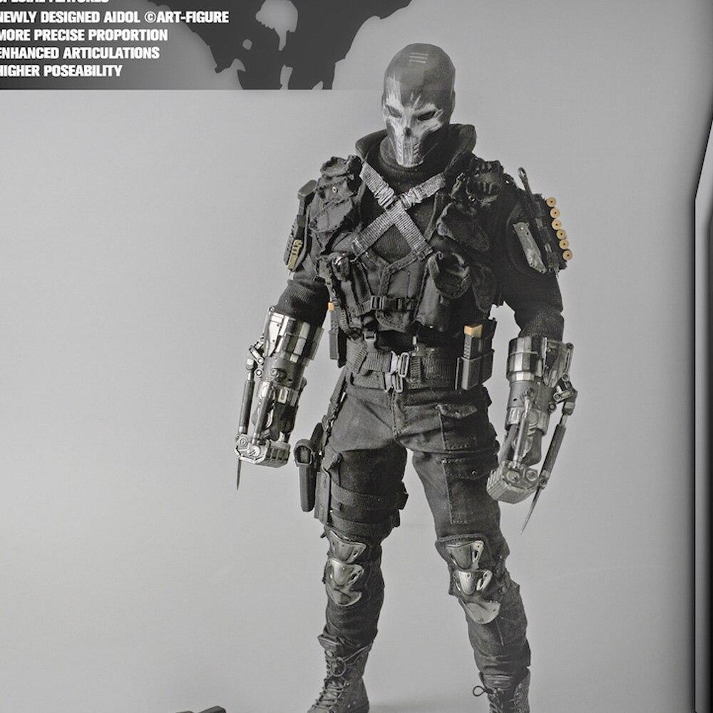 Soldier Phicen 1/6 масштаб супер гибкий мужской Бесшовный корпус Скелет из нержавеющей стали подходит для 12 ''фигурка модель игрушки