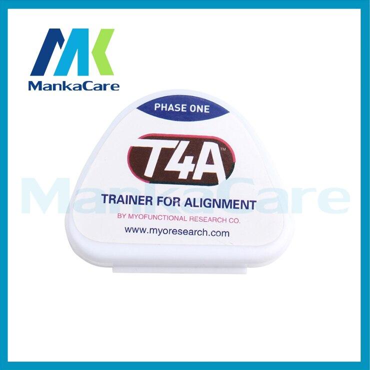 Venta caliente 1 unidades Simple Práctico T4A Dientes Entrenador De Ortodoncia Brackets Dentales Boquillas Aparato