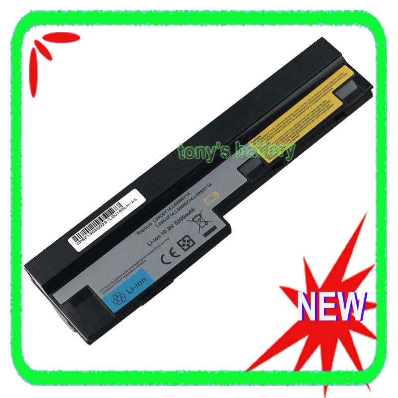 6 Cell Battery for Lenovo IdeaPad S100 S100c S110 S10-3 0647 S205 S205s <font><b>U160</b></font> U165 L09S6Y14 L09M6Y14 L09C6Y14 57Y6442 image