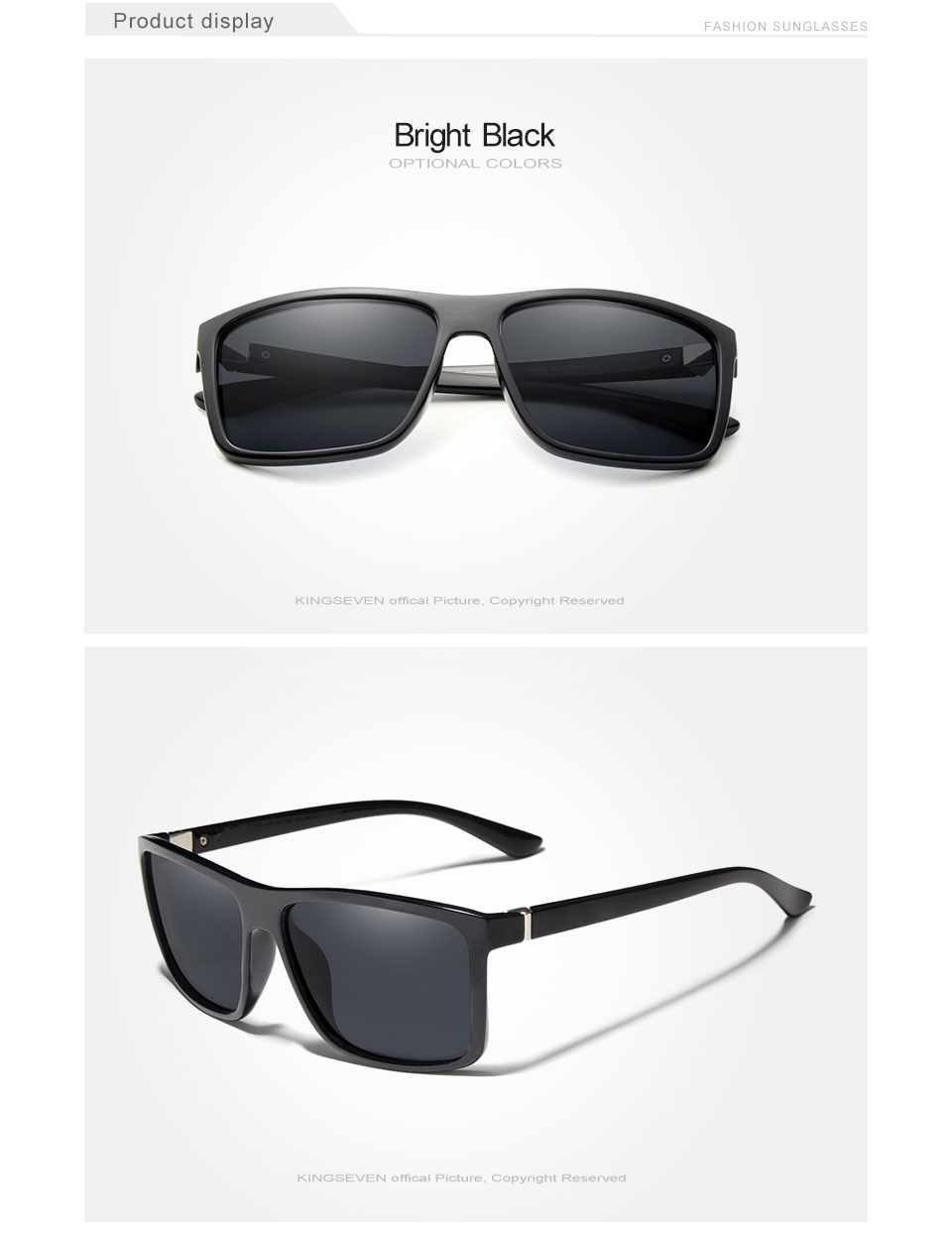DRIVE - Classic Square Sunglasses for Men | Dukesman.com
