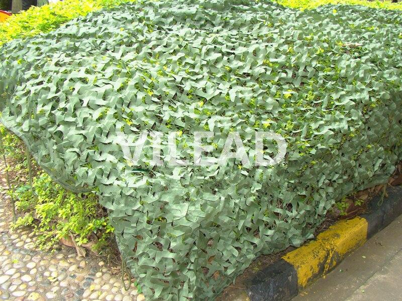 Filet de Camouflage vert VILEAD 10 M * 10 M filet pour tente de Camouflage militaire à vendre abri solaire extérieur thème décoration de fête