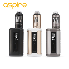 Original 200W Aspire Speeder TC Kit fit 4ml Athos Tank Speeder 200W Mod VW/VV/Bypass/TC E-cig Kit Top Fill Huge Power Big Smok