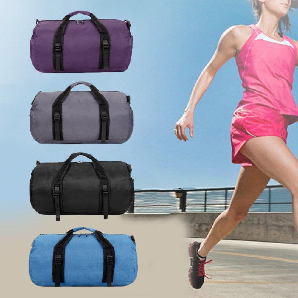 Di chiaro Uomini Color Da Degli blue Palestra Bagagli Formazione Unisex Color Professionale Tracolla black lavanda Yoga Sport Pieghevole Universale Donne Grigio A Borsa Nylon FqU44I