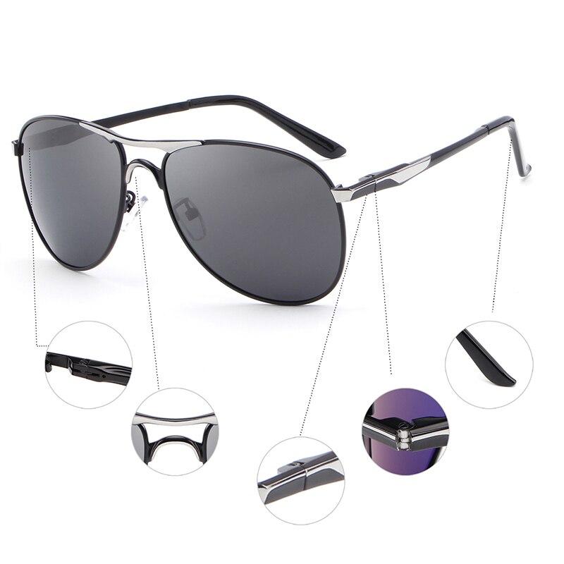 HDCRAFTER Alta Qualidade Da Marca Designer De Óculos De Sol Frescos óculos  Polarizados dos homens Óculos de Proteção UV oculos de sol masculino em  Óculos de ... d5f52b3c55