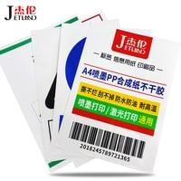 A4 do drukarek atramentowych etykiety naklejki arkusze  wodoodporna samoprzylepne naklejki matowy/błyszczący papier syntetyczny przezroczysta etykieta do drukarek atramentowych na