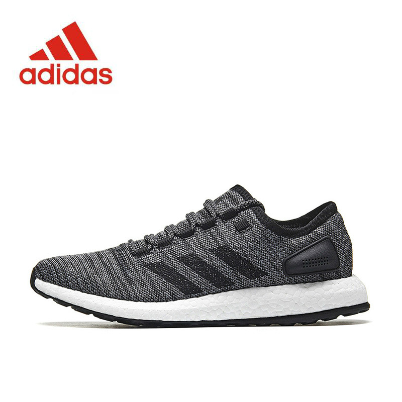 New Arrival Authentic Adidas PureBOOST All Terrain Men s Running Shoes  Sports Sneakers S80787 7e520844a