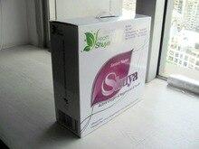 Gift box SHUYA Sanitary Napkin with Negative ion, Herbal Mint Scented and Free vagina health self-test card 19Packs/box