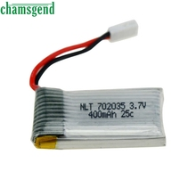 CHAMSGEND 1 Pcs 3.7V 400mAh Battery for Drone H31 RC Quadcopter S30