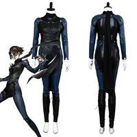 Anime Persona 5 Makoto Niijima Cosplay Costume Jumpsuit Full Set For Women Girls Custom Made Halloween Carnival Party Costumes