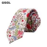 New Men's Floral Neck Ties for Man Casual Cotton Slim Tie Gravata Skinny Wedding Business Neckties New Design Men Ties TT016