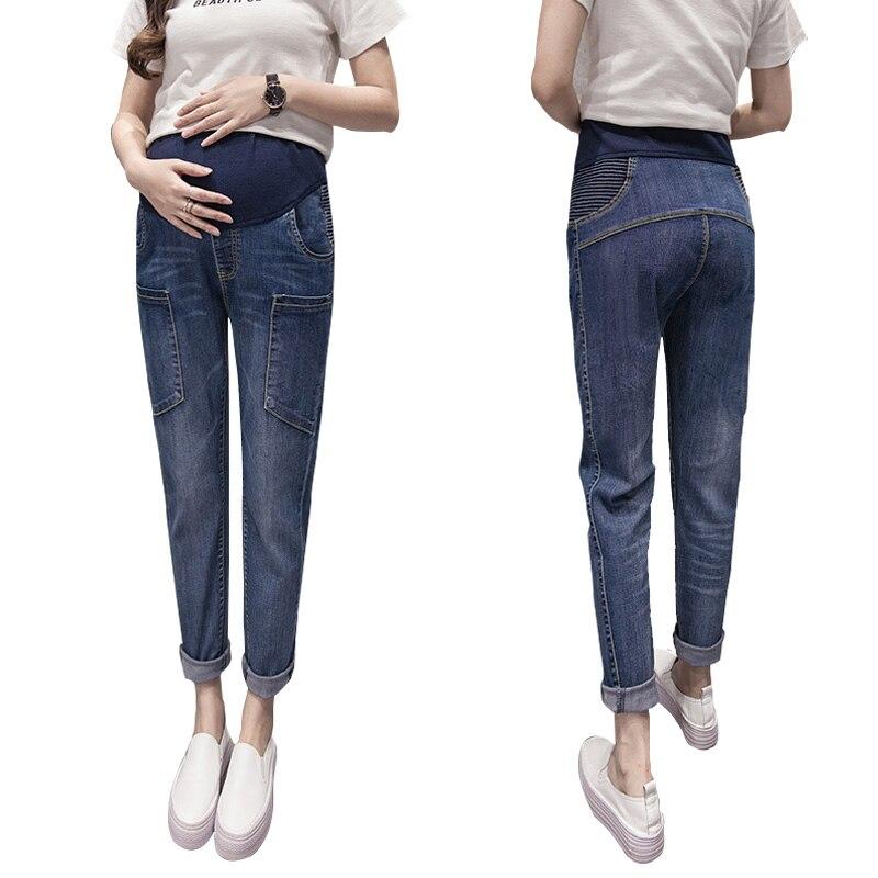 2017 Autumn&Winter Jeans Maternity Pants Pregnant Women Pants Clothes for Pregnant Women Pregnant Trousers Pregnancy Clothes