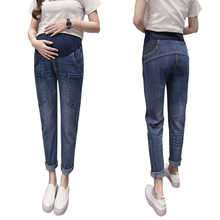 2017 Autumn&Winter Jeans Maternity Pants Pregnant Women Pants Clothes for Pregnant Women Pregnant Trousers Pregnancy Clothes(China)
