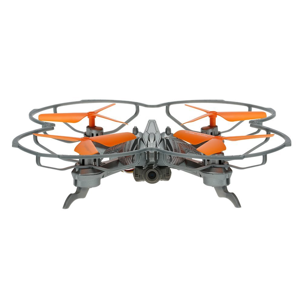 EBOYU(TM) ATTOP YD-IDR903 Drone Toys 2.4G 4CH 6-Axis Gyro 2MP Camera RC Quadcopter with 3D Flip Headless Mode Function image
