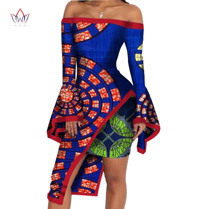 BRW Vêtements africains 2 Pièce Ensemble Femmes Robe Costume Crop - Vêtements nationaux - Photo 6