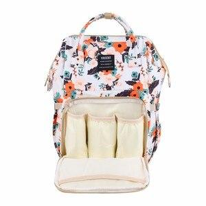 Image 3 - Yeni moda bebek bezi çantası sırt çantası büyük kapasiteli bebek çantası bezi çantası bebek bakımı annelik seyahat sırt çantası en kaliteli