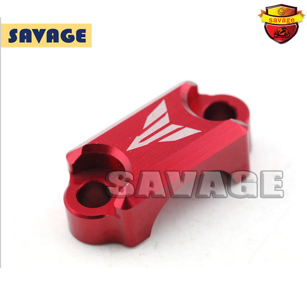 For YAMAHA MT-07 FZ-07 MT-01 MT-03 Motorcycle CNC Aluminum Brake Master Cylinder Clamp Handlebar Bar Clamp Cover Red for yamaha fz6 fz1 fz8 xj6 xjr1300 motorcycle cnc aluminum brake master cylinder clamp handlebar clamp cover red