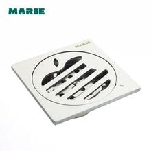 Bathroom Shower Washing Machine Floor Waste Grate Drainer
