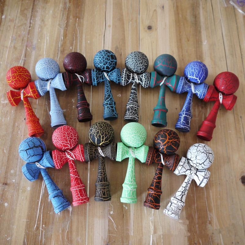 Newest Kendama Wooden Outdoor Sports Toy Skillful Kendama Professional Ball Toys For Kids Sports