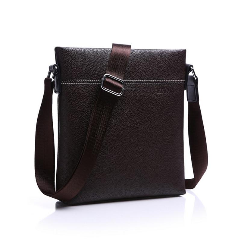 New 2016 Fashion Multifunctional PU Leather Man font b Bags b font Casual Men Messenger font