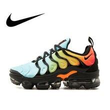 on sale 2ae79 cd42c NIKE AIR VAPORMAX PLUS Espadrilles Hommes Respirant chaussures de course de  Sport à lacets qualité supérieure
