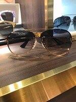 WD0666 2018 роскошные взлетно посадочной полосы Солнцезащитные очки Мужские брендовые дизайнерские солнцезащитные очки для женщин Картер очки