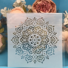 "Get more info on the 5.9"" Flower Circle DIY Craft Layering Stencils Wall Painting Scrapbooking Stamping Embossing Album Paper Card Template F5547"