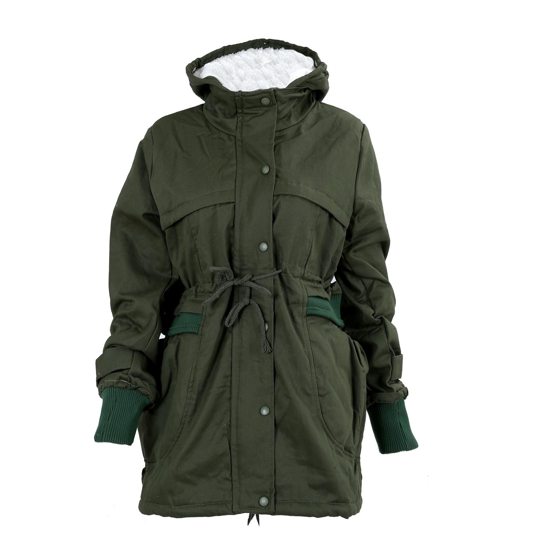 39b3a980f BFYL Fashion New Women Thicken Warm Winter Coat Hood Parka Overcoat Long  Jacket Outwear