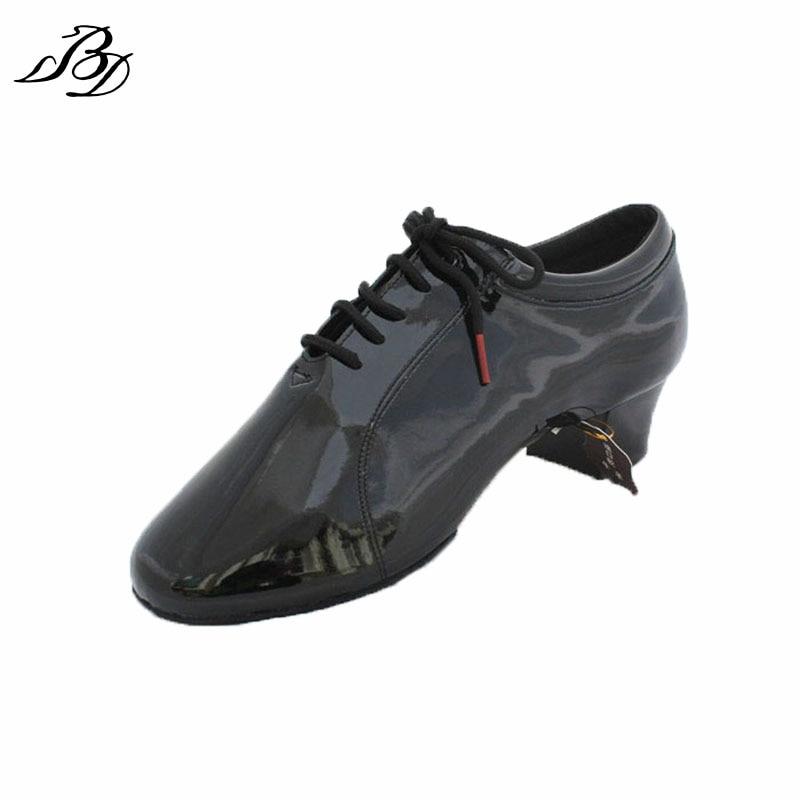 Dancesport Shoes BD Dance 419 Prossional Men Latin Dance Shoes Split Sole Ballroom Dancing Shoes Practice Competition