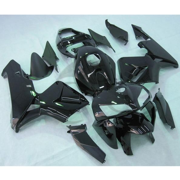 Черный инъекции ABS обтекатель комплект подходит для Honda CBR600RR ЦБ РФ 600 РР клавишу F5 05 06 18А
