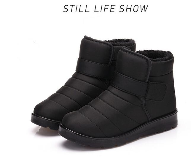 HTB19LuvXtfvK1RjSspfq6zzXFXaZ - Hot Sale New Fashion Men Boots Waterproof Ankle Snow Boots Winter Work Shoes Keep Warm Fur Men Footwear Outdoor Plush Shoes