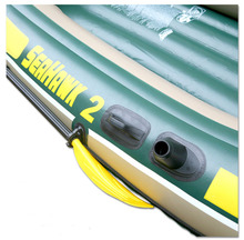 3 person Fishing Boat Sea Hawk Inflatable Rowing Boats With Oars And Pump Rubber Kayak Fishing Boat Summer Water Sports
