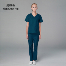 Hospital Nurse's suit medical Overalls Surgical shirt + Pants doctor's clothing surgical scrub suit  medical clothing for Women
